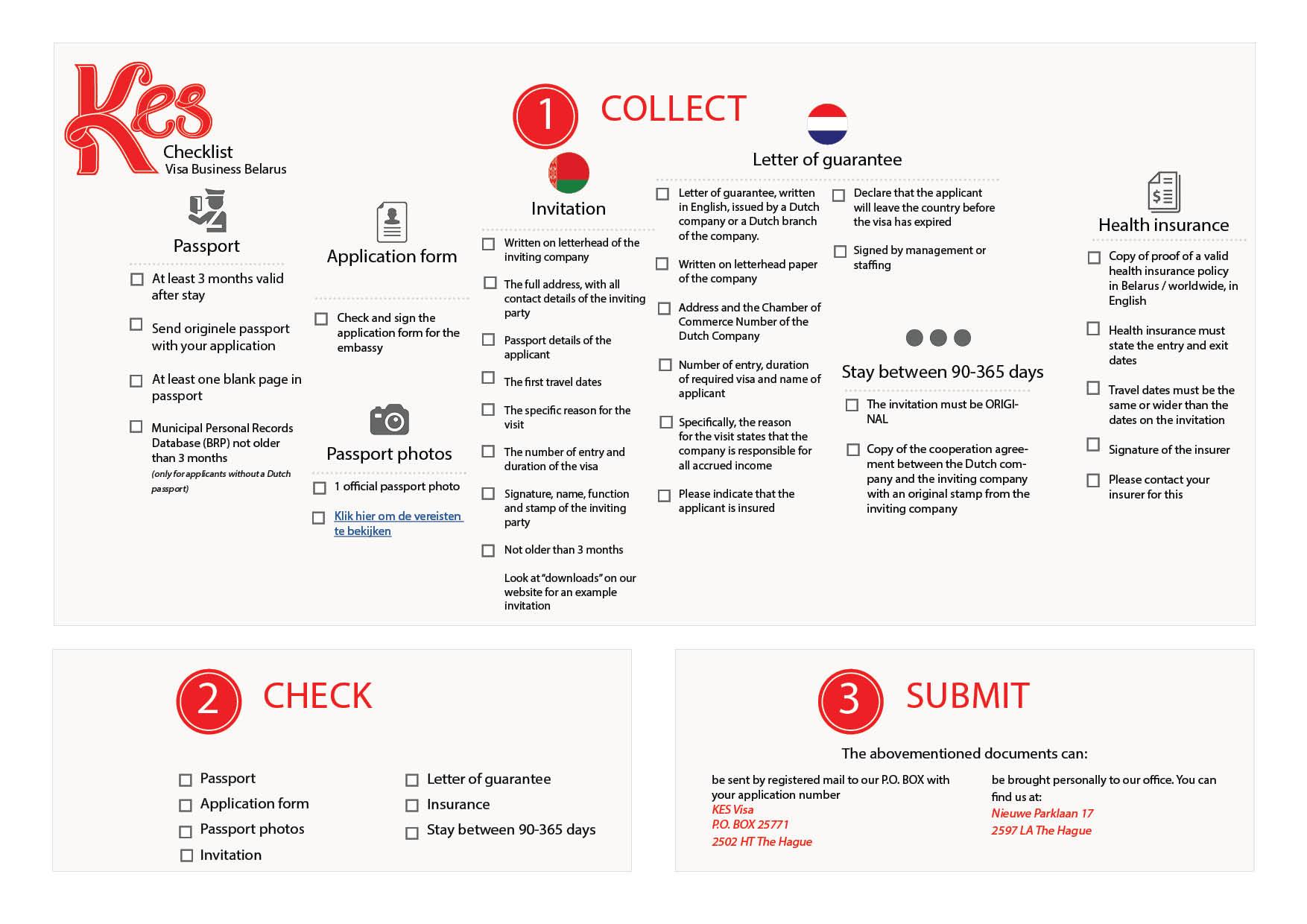 Visa checklist tourist belarus visa checklist business belarus visa stopboris Gallery