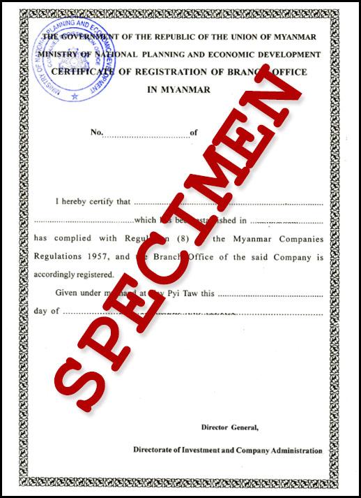 Visa myanmar example registration company international company yelopaper Choice Image